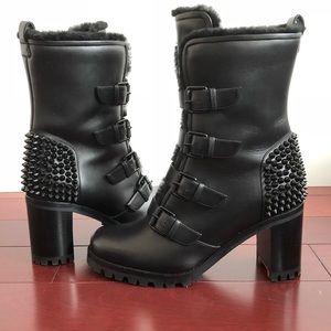 buy popular c3db5 4485b Christian louboutin glorymount boots